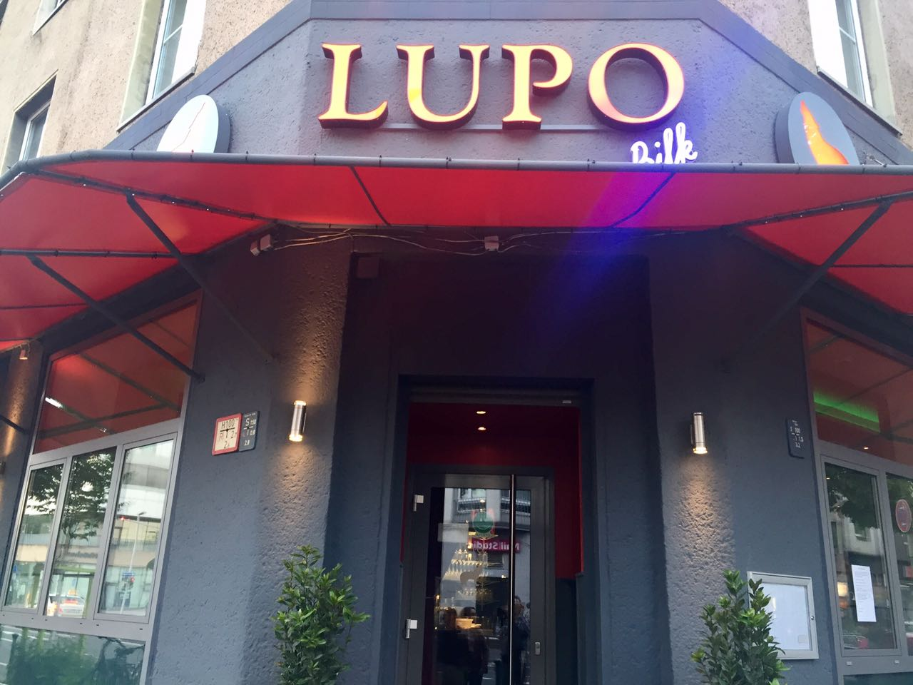 lupo bilk trattoria essen in d sseldorf. Black Bedroom Furniture Sets. Home Design Ideas